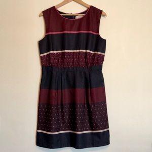 Silky, maroon, Loft work dress